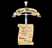 Arya's Death List by Leonardo Ligustri