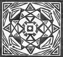 Black & White Symmetrical Box Design by DreamByDay