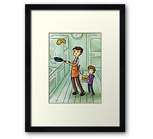 Pancake Day Framed Print