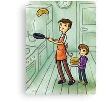 Pancake Day Canvas Print