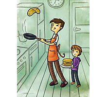 Pancake Day Photographic Print