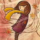 Autumn Wind by Ine Spee