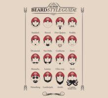 Super Mario - Beard Style Guide by Azafran