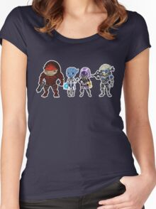 Mass Effect Crew Women's Fitted Scoop T-Shirt
