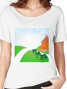 chalet Women's Relaxed Fit T-Shirt