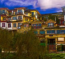 Hanging Houses of Cuenca by Paul Wolf