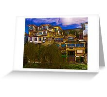 Hanging Houses of Cuenca Greeting Card