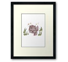 Wolf Boy - Animal Framed Print