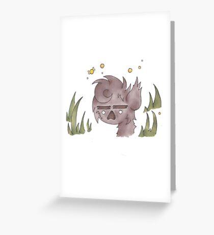 Wolf Boy - Animal Greeting Card