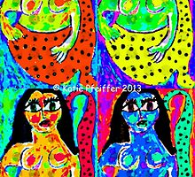 Pop Art Mermaids by Kater