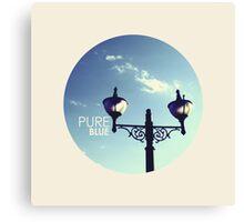 Pure Blue Canvas Print