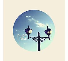 Pure Blue Photographic Print