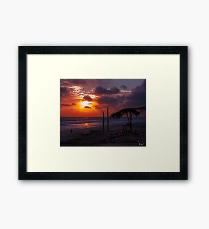 After the Beach Party  Framed Print