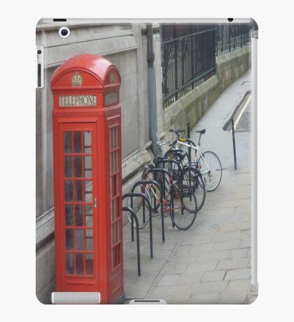 London Red Phone Box iPad case iPad Case/Skin