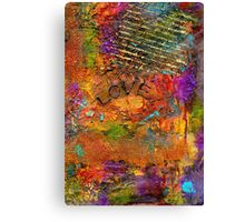 A Really Long Love Letter Canvas Print