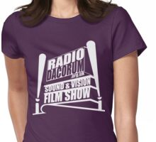 Sound and Vision Film Show V1 Womens Fitted T-Shirt