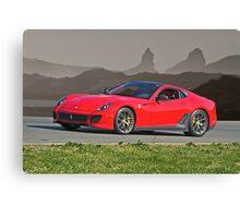 2011 Ferrari Novitec 599 GTO Canvas Print