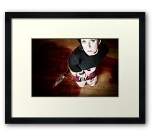 """......like a woman scorned"" Framed Print"