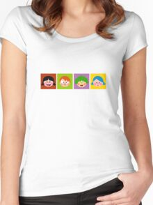 Children Women's Fitted Scoop T-Shirt
