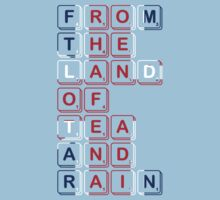 From The Land of Tea and Rain Logo - Union variant by From The Land of Tea and Rain