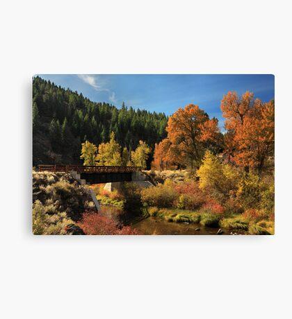Susan River Bridge On The Bizz 2 Canvas Print
