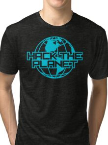 Hack the Planet Tri-blend T-Shirt