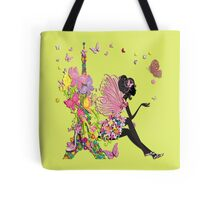 Fashion Girl in Paris Tote Bag