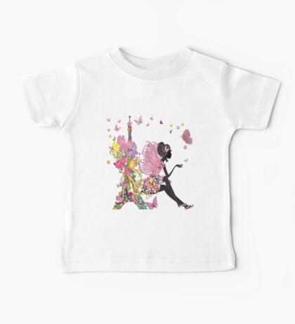 Fashion Girl in Paris Baby Tee