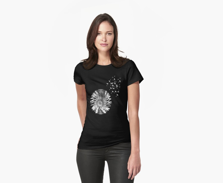 Dandelion Seed T-Shirt by simpsonvisuals