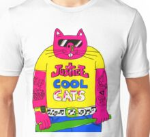 Cool Cats - Yellow / Justice Cat Unisex T-Shirt