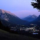 Banff @ Dusk by Photo-Bob