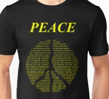 Peace - Happy People Lyrics Unisex T-Shirt