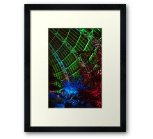 New Age Dome and Trees Framed Print