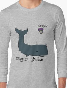 Hello Ground! - Hitchhiker's Guide To The Galaxy Long Sleeve T-Shirt
