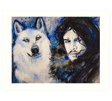 Game of Thrones-  Jon Snow Art Print