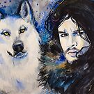  Game of Thrones-  Jon Snow by Slaveika Aladjova