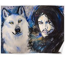 Game of Thrones-  Jon Snow Poster