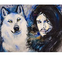 Game of Thrones-  Jon Snow Photographic Print