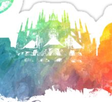 Prague colored  Sticker