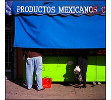 Productos Mexicanos Photographic Print