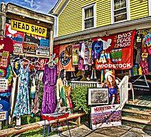 Psychedelic Woodstock by Nancy de Flon
