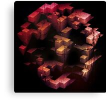 abandoned tetris Canvas Print