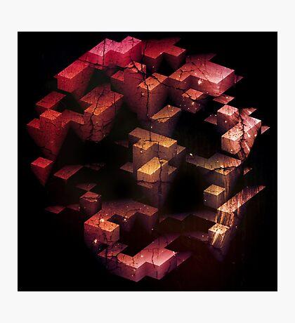 abandoned tetris Photographic Print