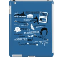 """Haven""ly Quotes iPad Case/Skin"