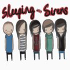 Cartoon Sleeping With Sirens by marebear141