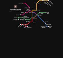 New Orleans (white) Unisex T-Shirt