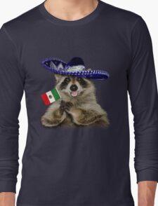 Mexican Raccoon Long Sleeve T-Shirt
