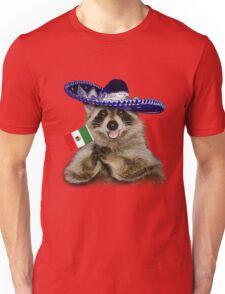 Mexican Raccoon Unisex T-Shirt