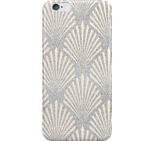 Pale pink and silver glitteer iPhone Case/Skin