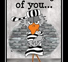 Jailbird: Thinking of you. by sdesiata